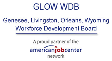 GLOW WDB Genesee, Livingston, Orleans, Wyoming Workforce Development Board - A Proud Partner of the American Job Center Network
